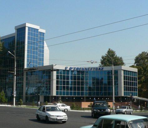 Uzbekneftegaz Tachkent Ouzbékistan Voitures