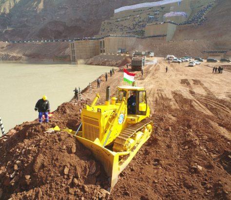 Rogun construction Rahmon