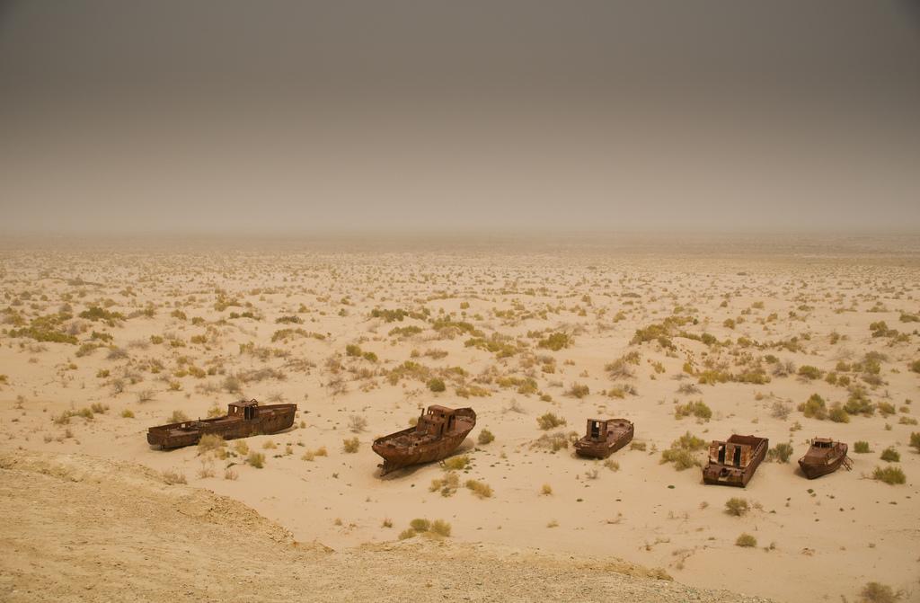 La mer d'Aral, un potentiel en matière de ressources gazières ?
