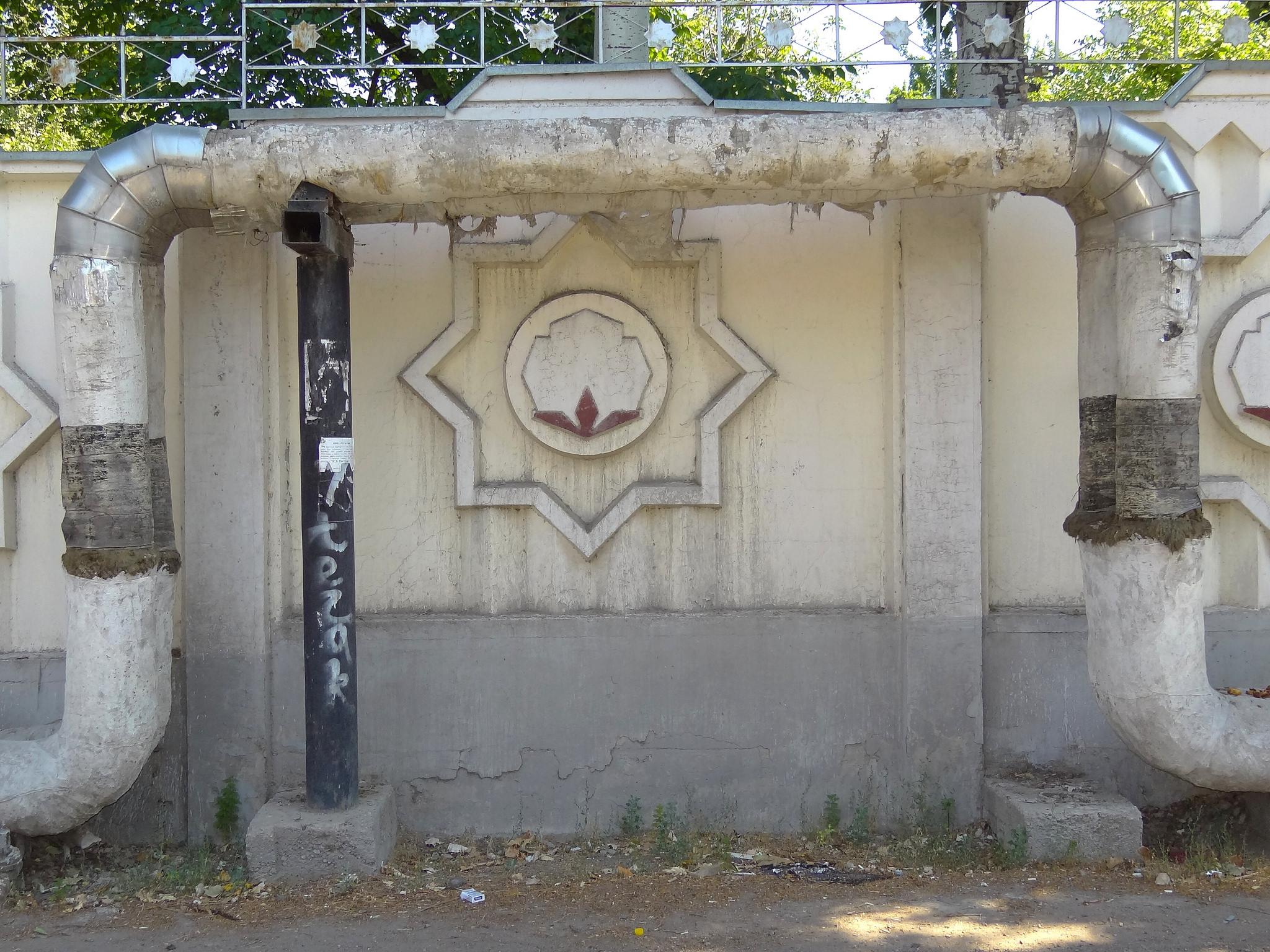 Une conduite de gaz à Tachkent