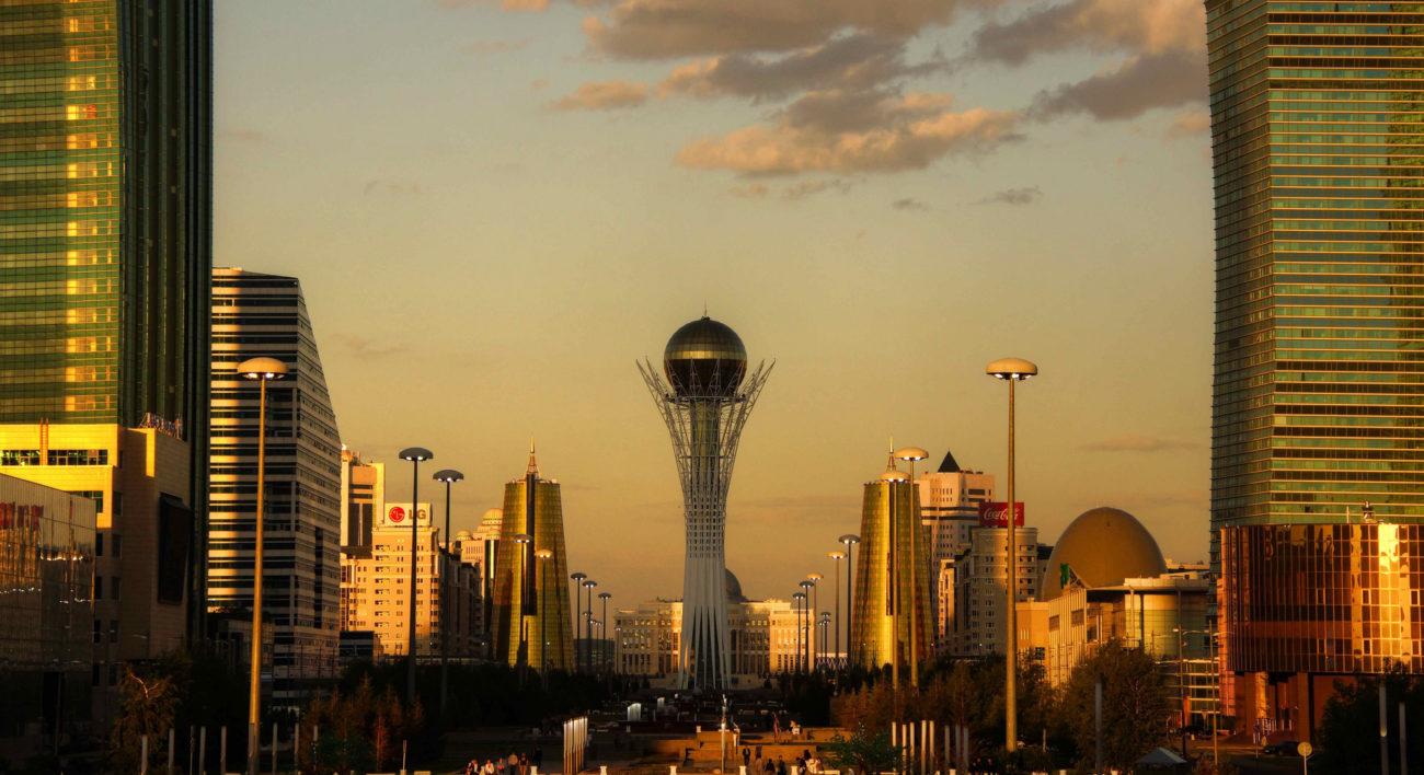 Astana Bayterek Kazakhstan Diplomatie Sport