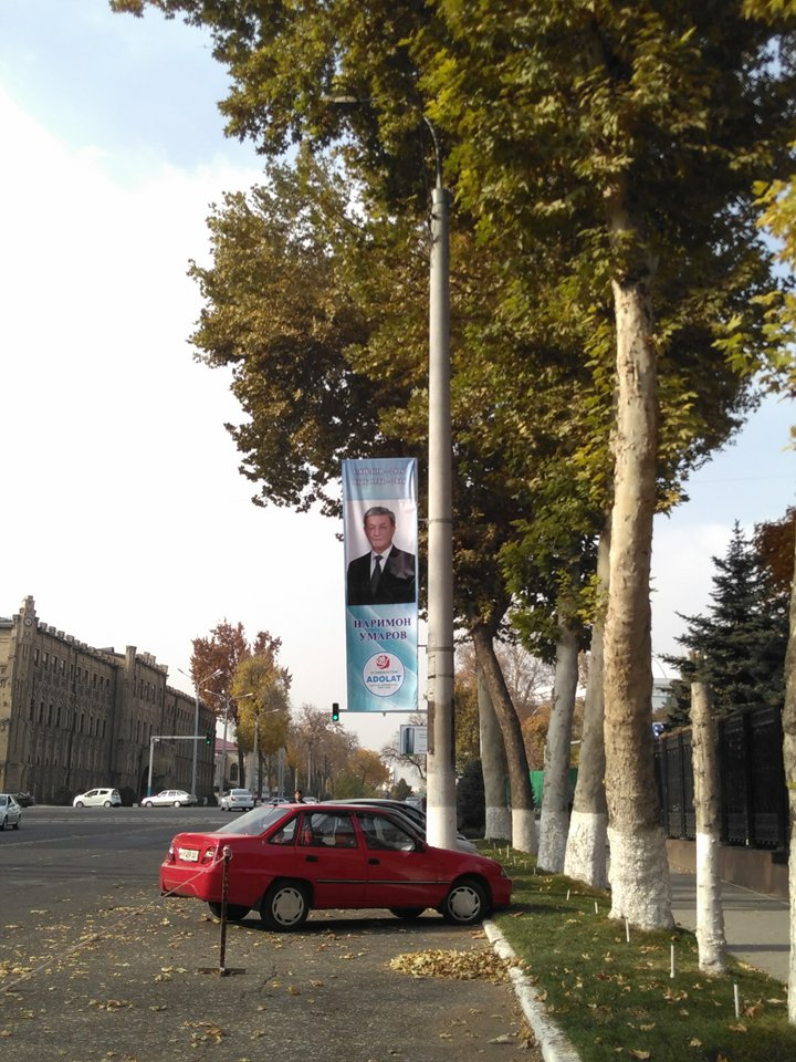 Nariman Madjitovich Umarov est le candidat du parti social démocrate.