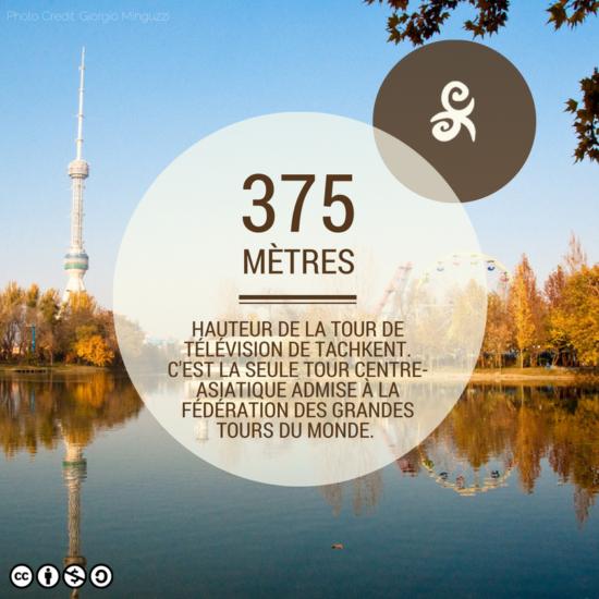 La tour de Tachkent est une attraction touristique en elle-même