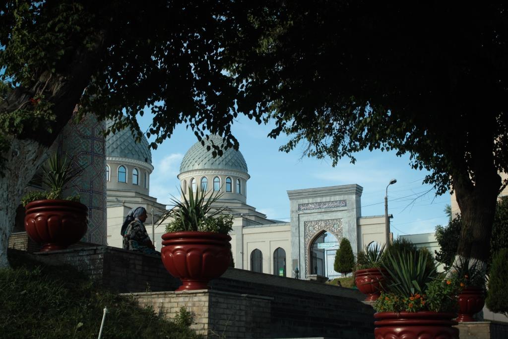 Vieille dame Tachkent