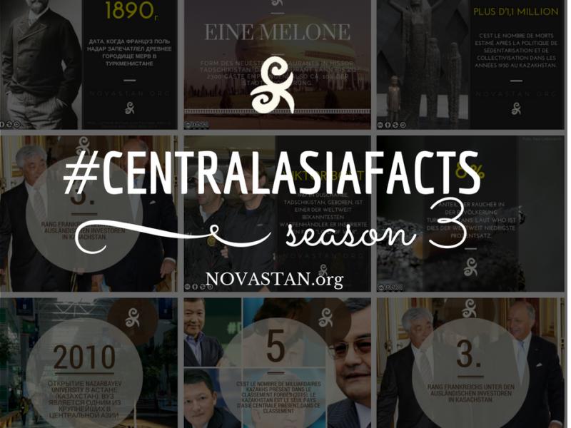La saison 3 de nos Central Asia Facts est arrivée !