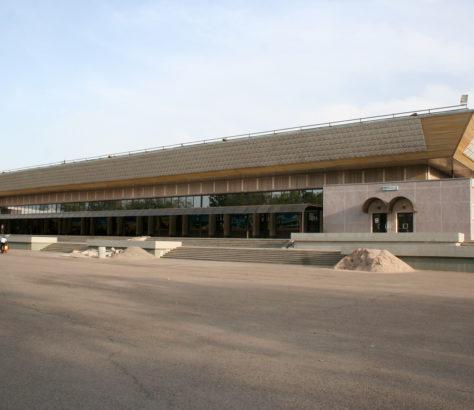 Aéroport Tachkent Ouzbékistan Karimov