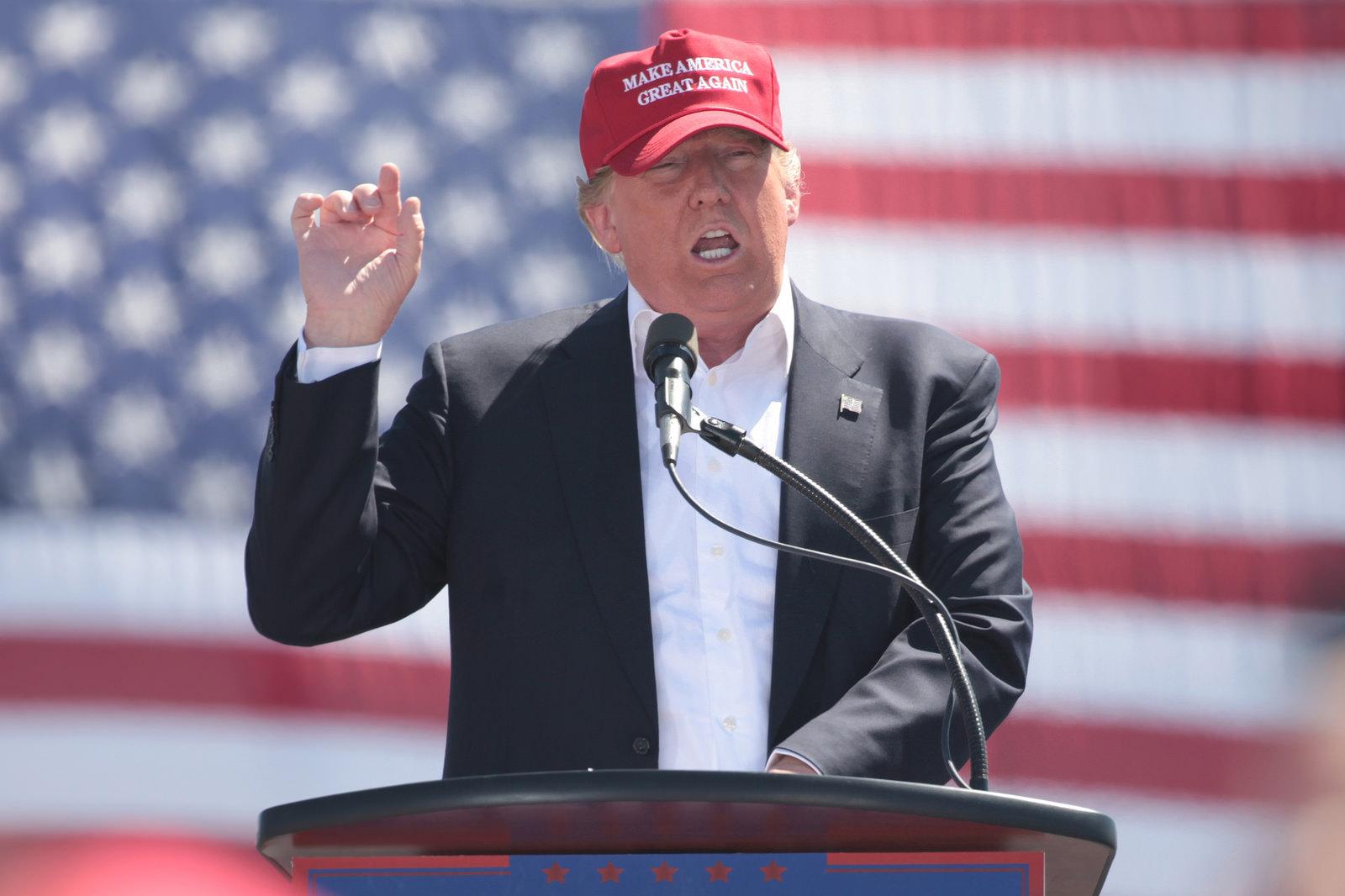 Le 45ème président des États-Unis, Donald Trump