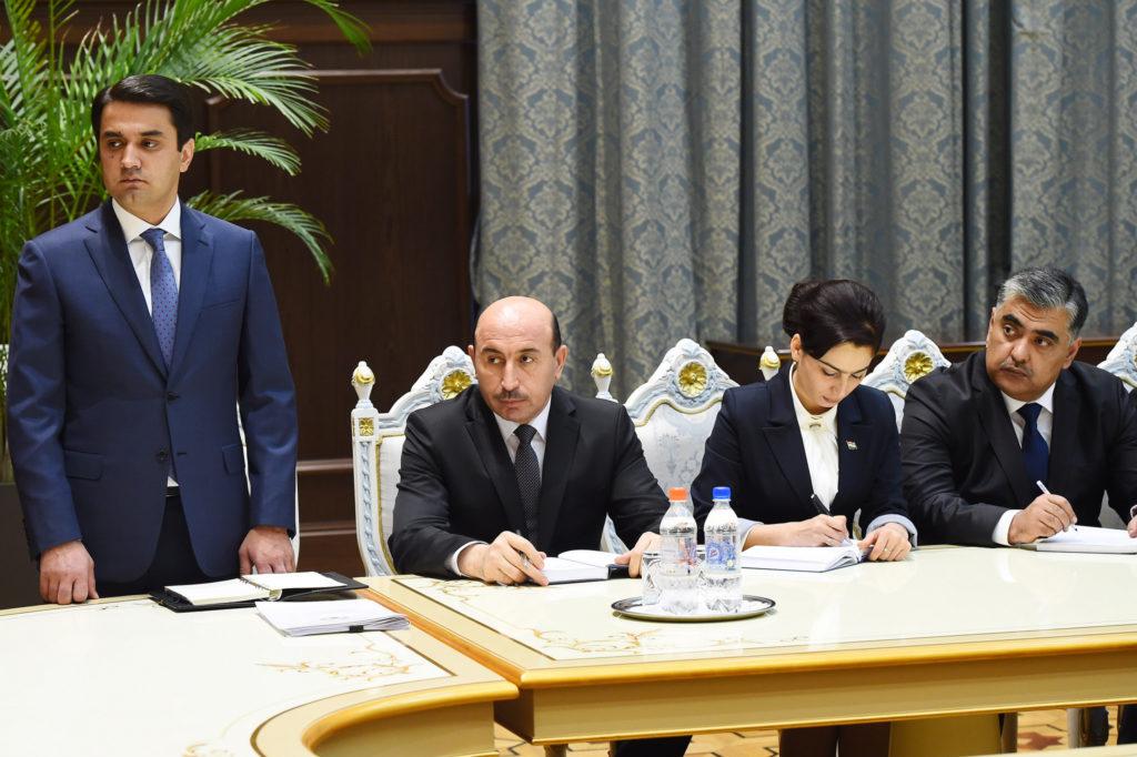 Rustam Emomali est devenu le nouveau maire de Douchanbé.
