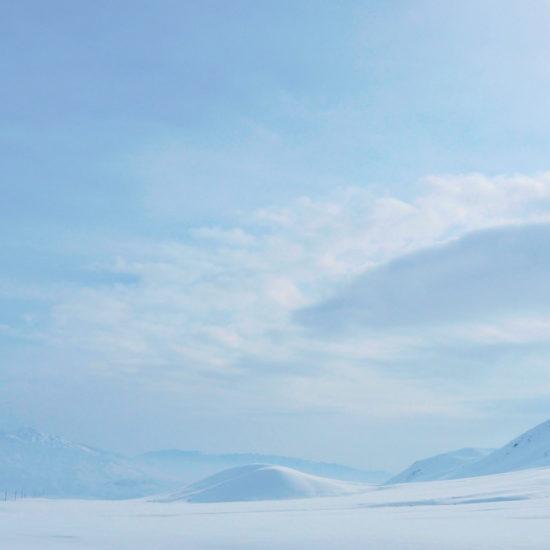 Kirghizstan neige montagne
