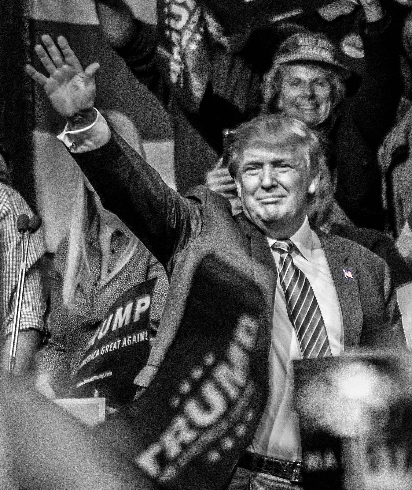 Donald Trump en meeting dans le Nevada en 2016