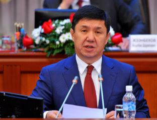 Temir Sariev Ministre Candidat Président Kirghizstan