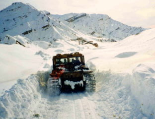 Tadjikistan Avalanche Neige Routes