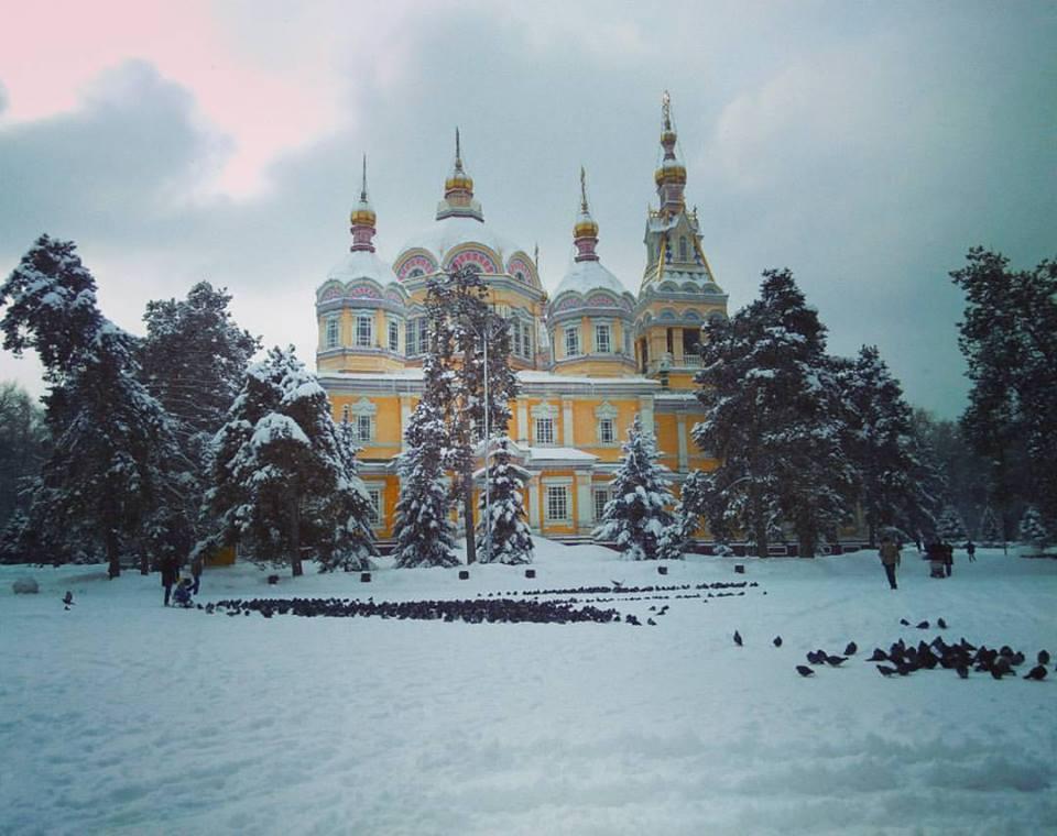 Almaty Cathédrale Kazakhstan