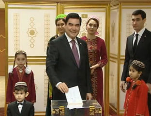 Turkménistan Berdimouhamedov Vote 2017