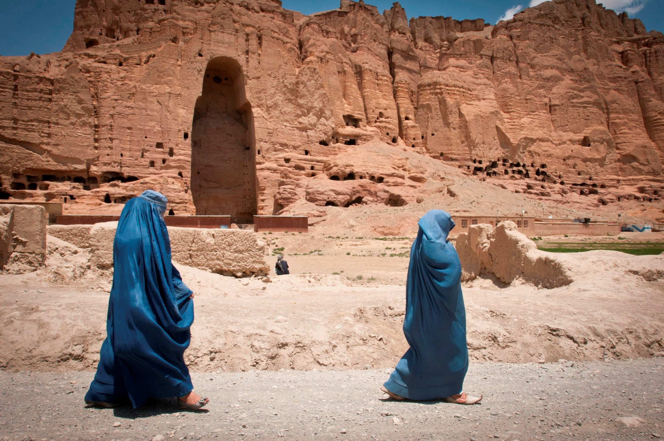 Bouddhas Bamiyan Talibans Emplacement