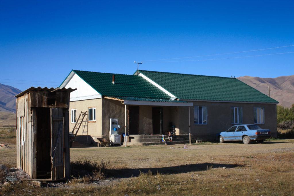 Extérieur maison maire Ak-Talaa Kirghizstan