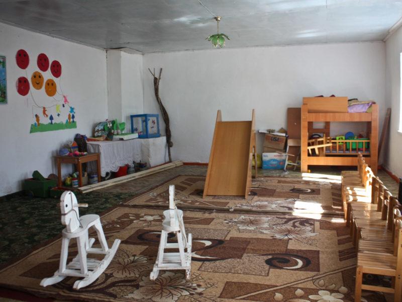 Maternelle Ak-Talaa Kirghizstan jouets