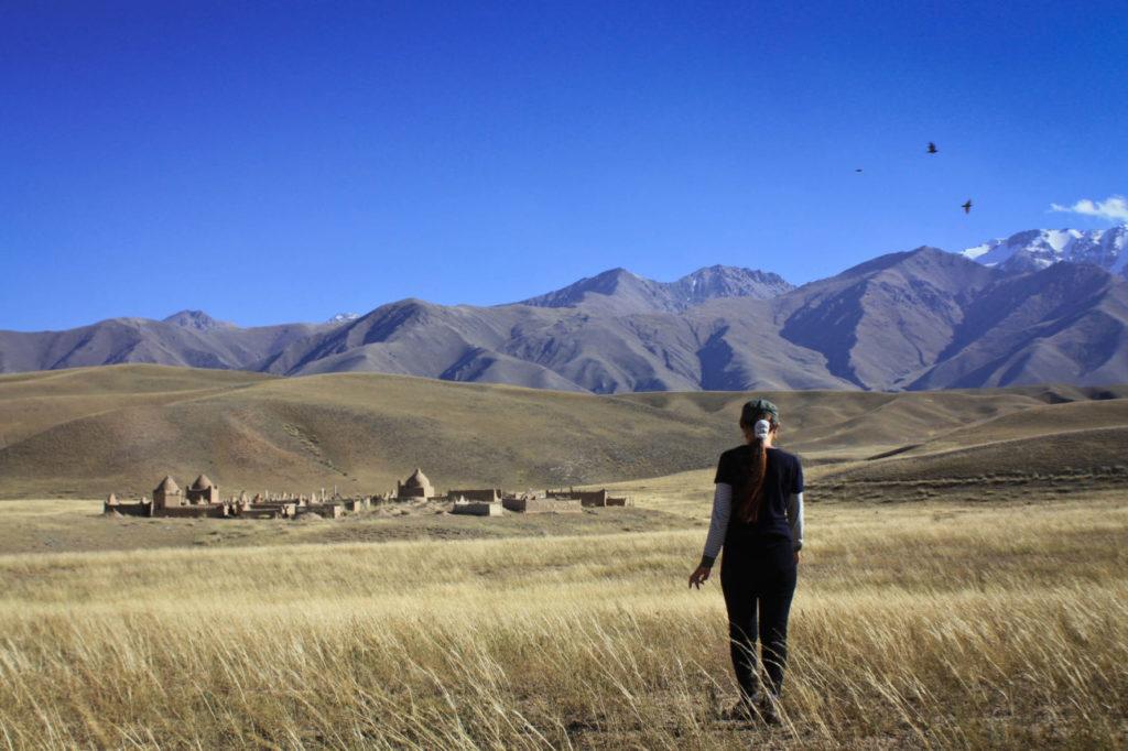Cimetière Ak-talaa Kirghizstan