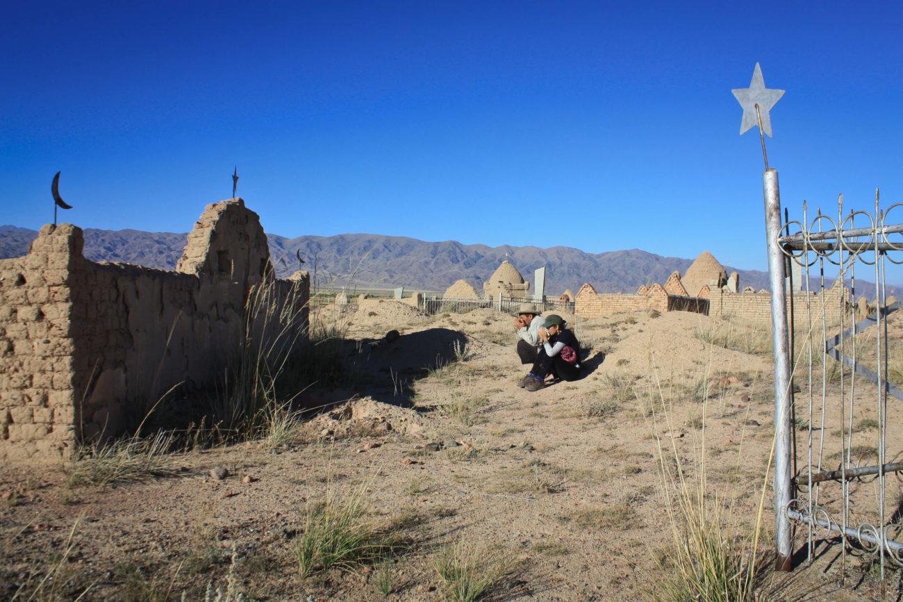 Cimetière Ak-Talaa Kirghizsta