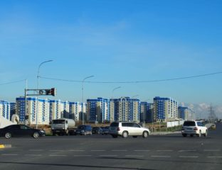 Immeubles Chimkent Kazakhstan