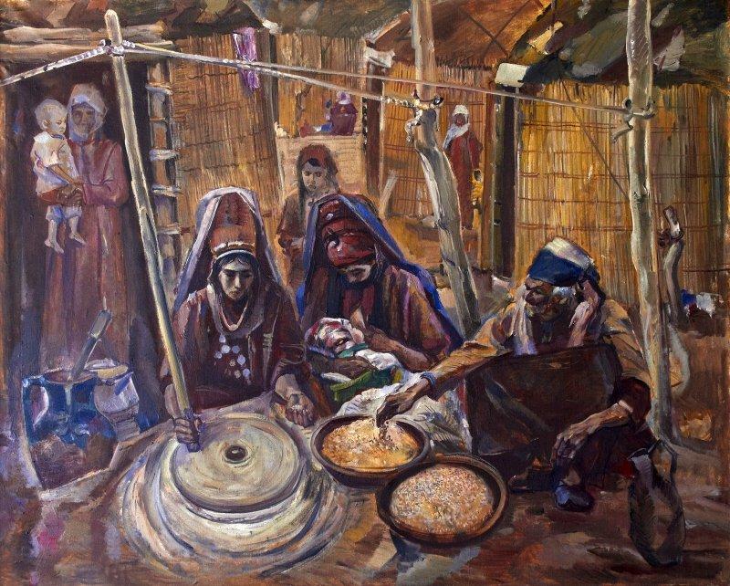 Dourdy Bairamov Peinture