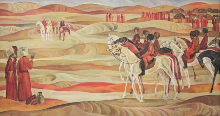 Mamed Mamedov Patrie Peinture