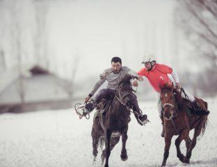 Horseball Toktogoul Kirghizstan France