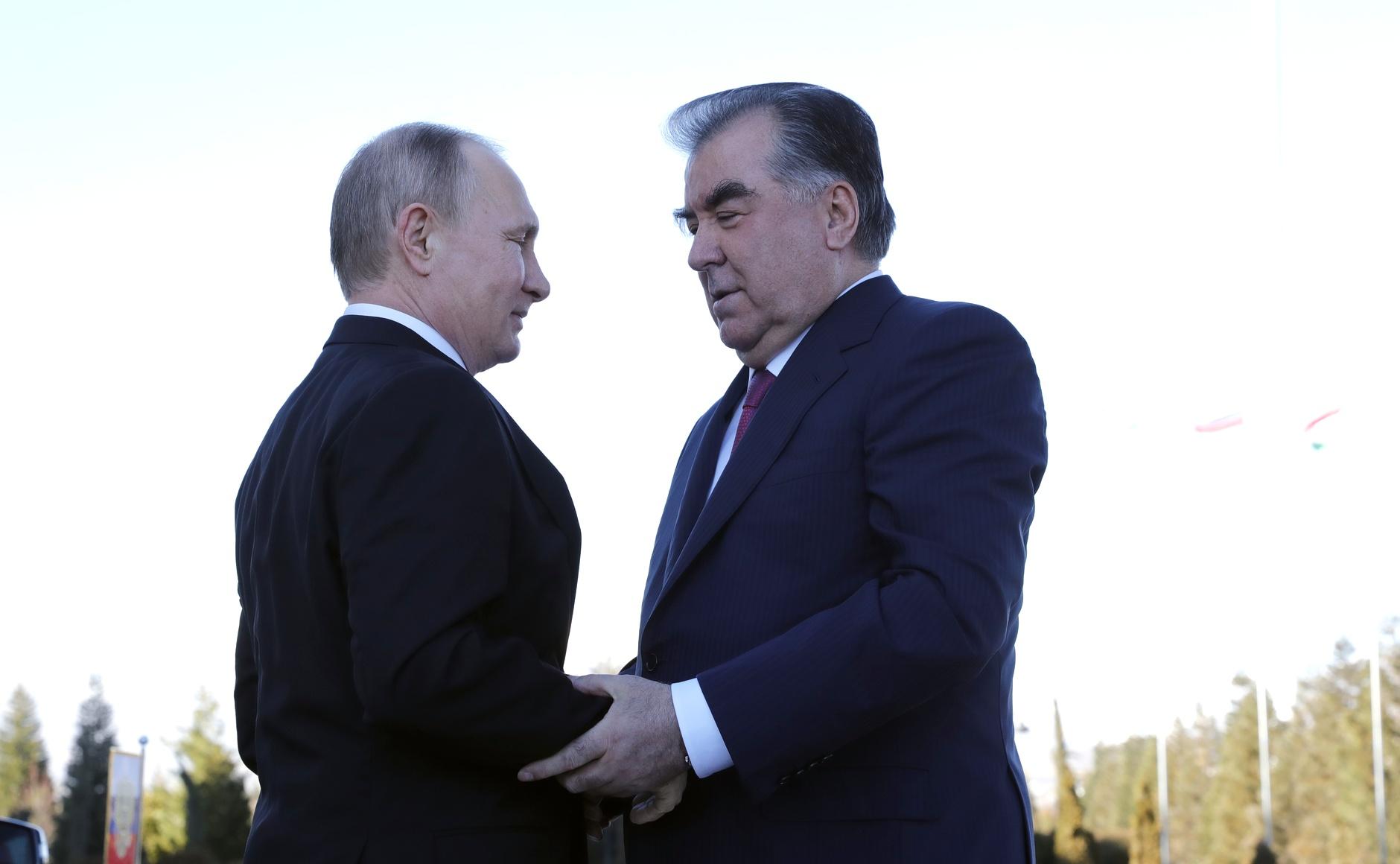 Poutine Rahmon Tadjikistan