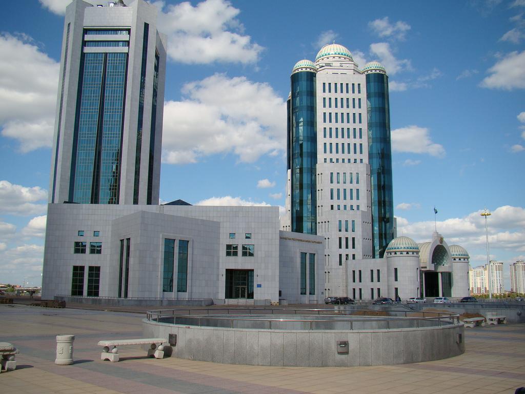 Parlement Kazakhstan Bâtiment Astana