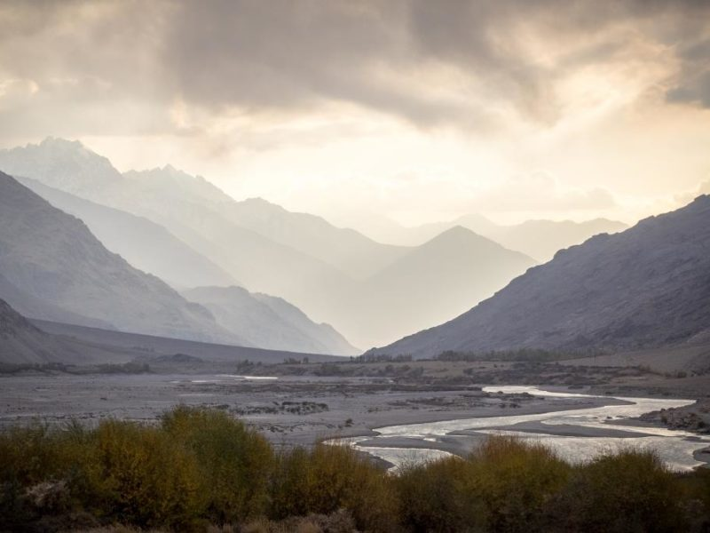 Corridor Wakhan Afghanistan Tadjikistan