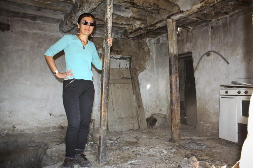 Mahabat Maison enfance Ak-Talaa Kirghizstan