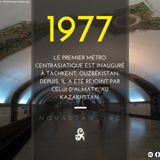 Métro Tachkent Fact 1977 Construction Asie centrale