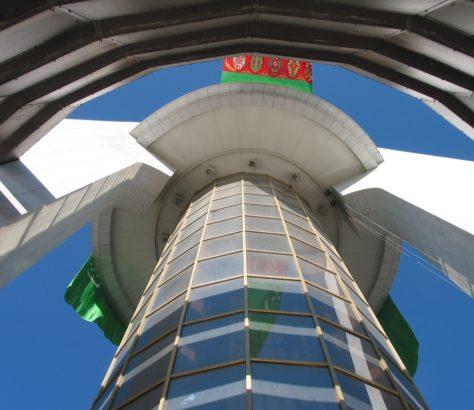 Arche Neutralité Achgabat Turkménistan