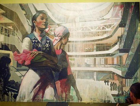 Street Art Bichkek Doxa Artistes Kirghizstan