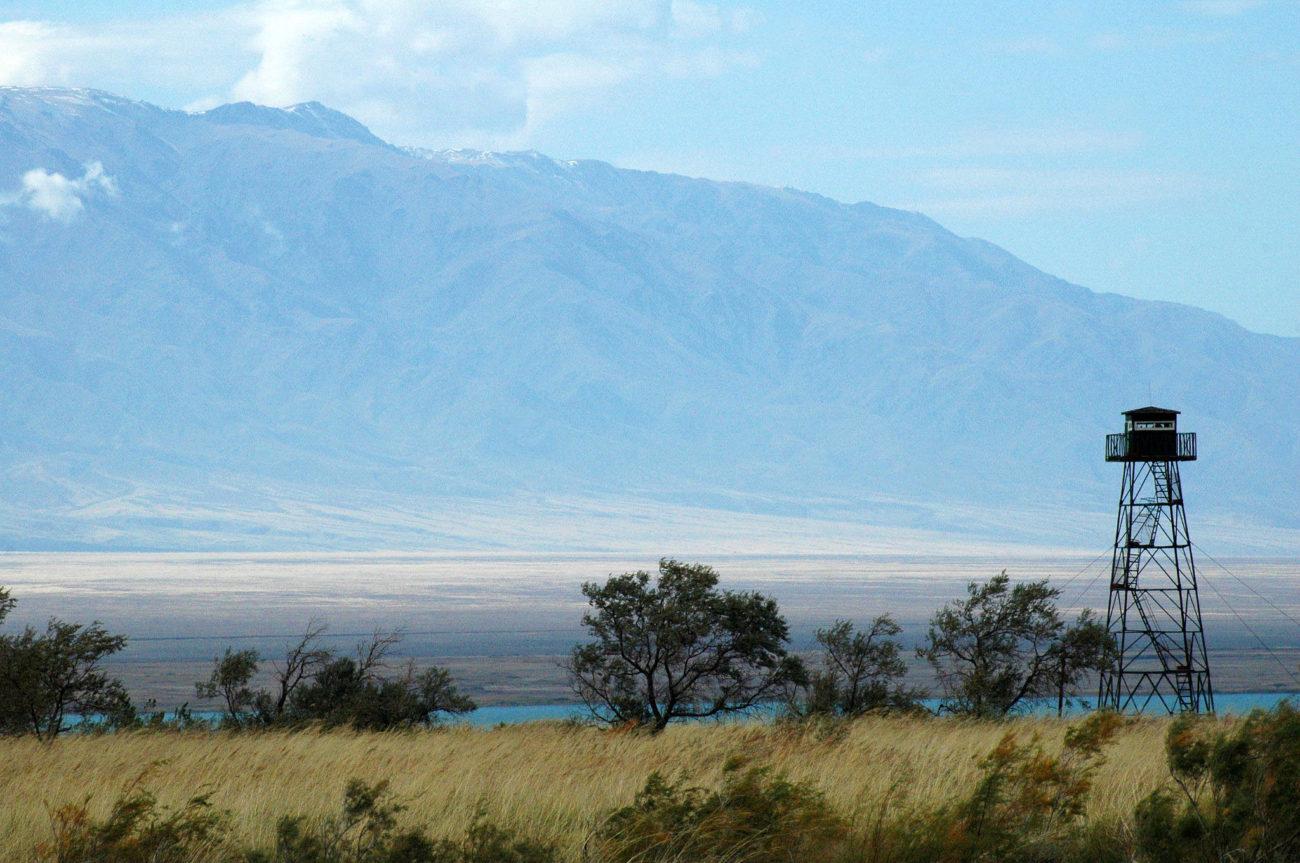 Frontière Ouzbékistan Kirghizstan Poste Mirador
