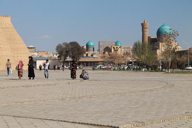 Boukhara Registan Ouzbékistan Mosquée Madrassa