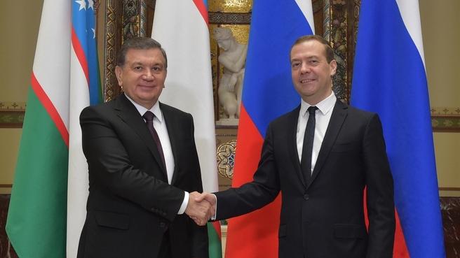 Mirzioïev Medvedev Moscou Chavkat Dmitri