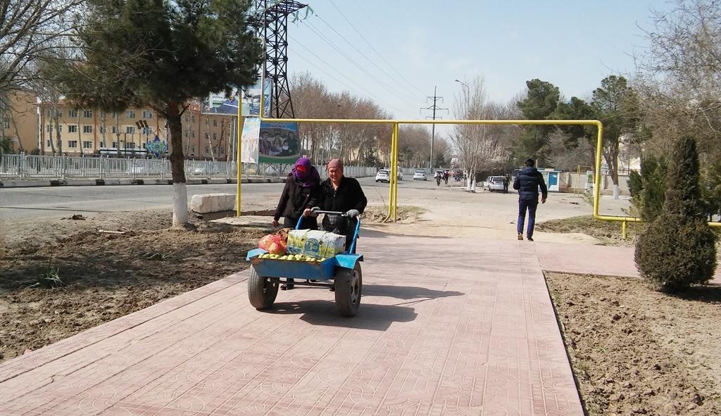 Termez Ouzbékistan Rue
