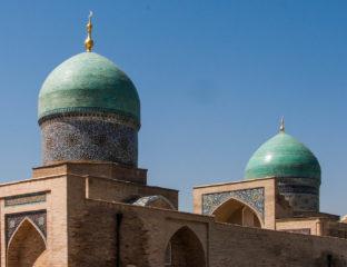 Ouzbékistan Madrassa Tachkent bâtiment islam