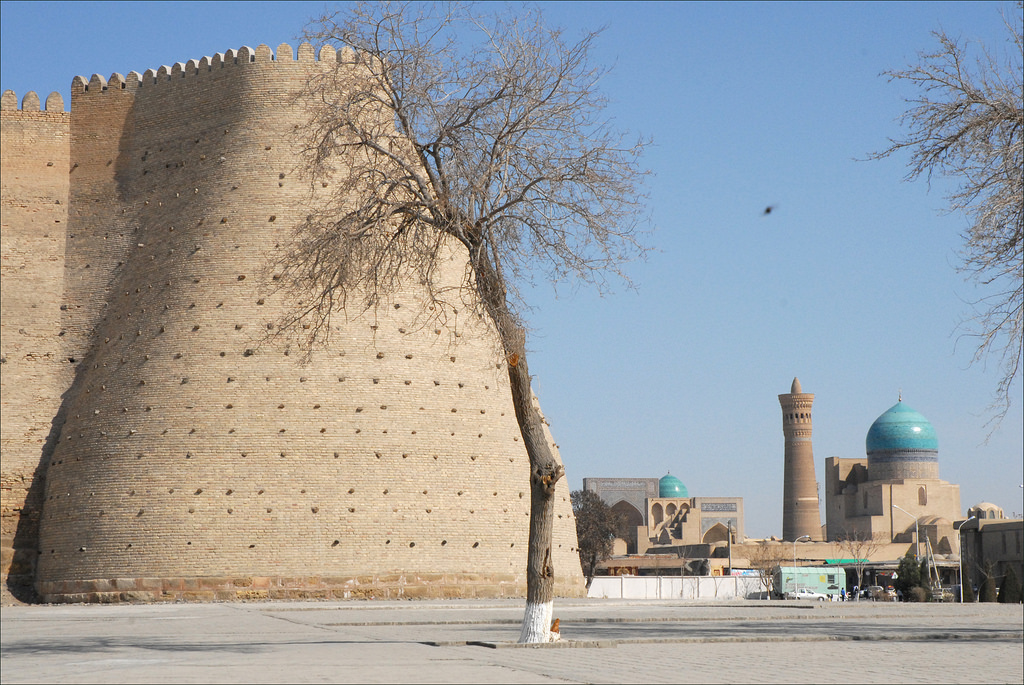 Boukhara Citadelle Ouzbékistan