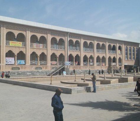 Termez Ouzbékistan Bazar Ville frontière Afghanistan