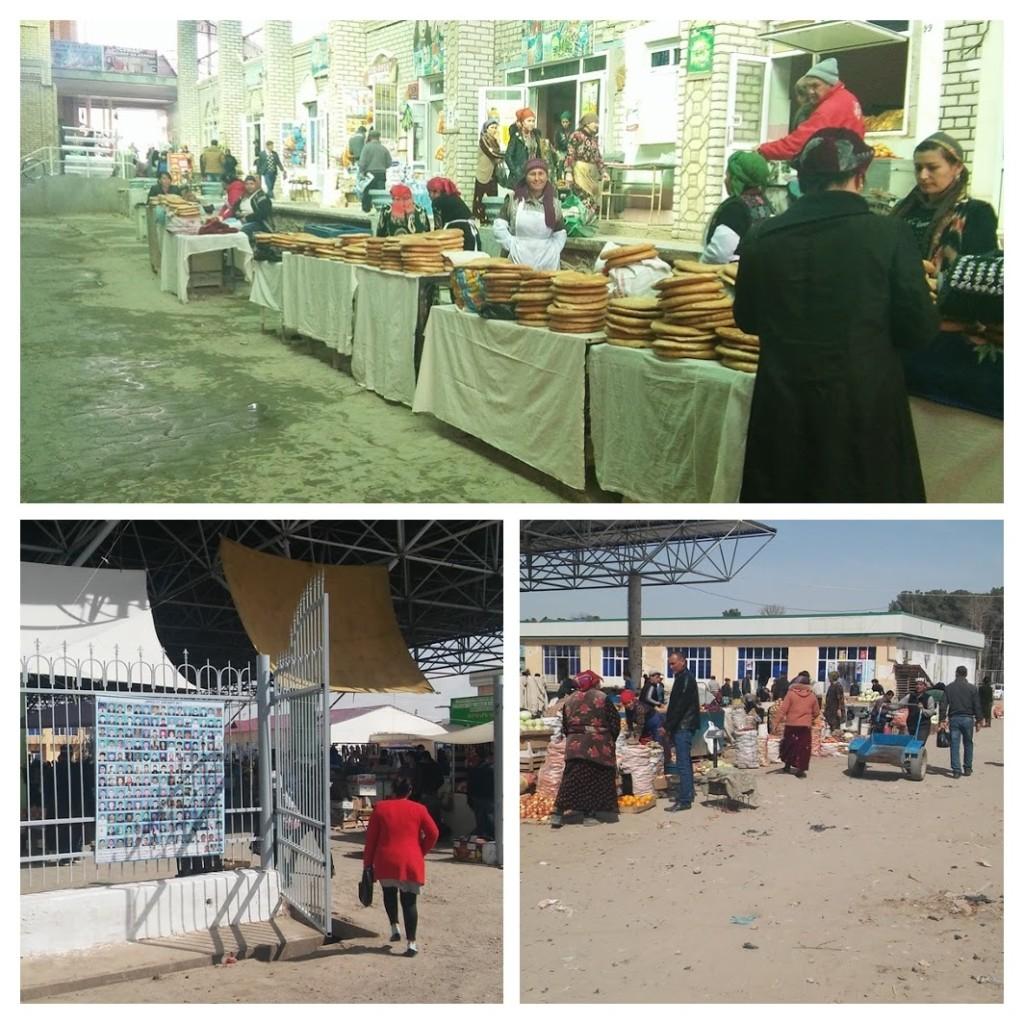 Bazar Termez Ouzbékistan