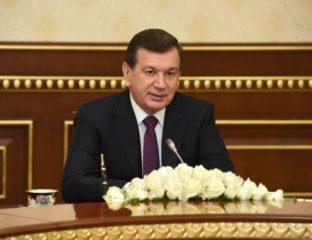 Chavkat Mirzioïev Ouzbékistan président ouzbek