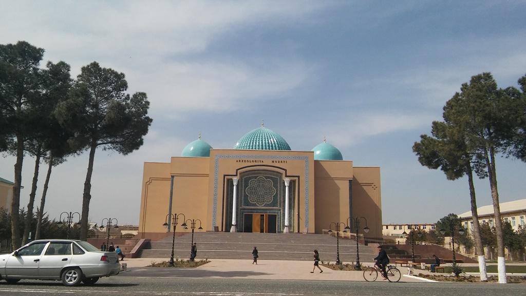 Musée Archéologie Termez Ouzbékistan