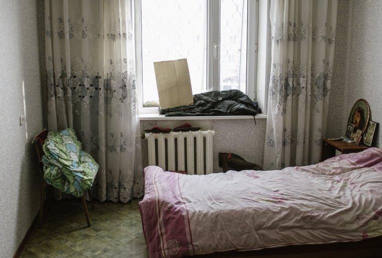 Temirtaou Kazakhstan appartement lit