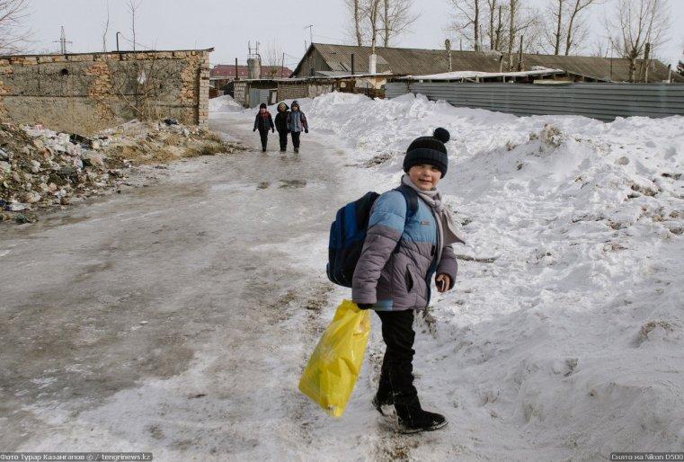 Prigorodny Kazakhstan enfant
