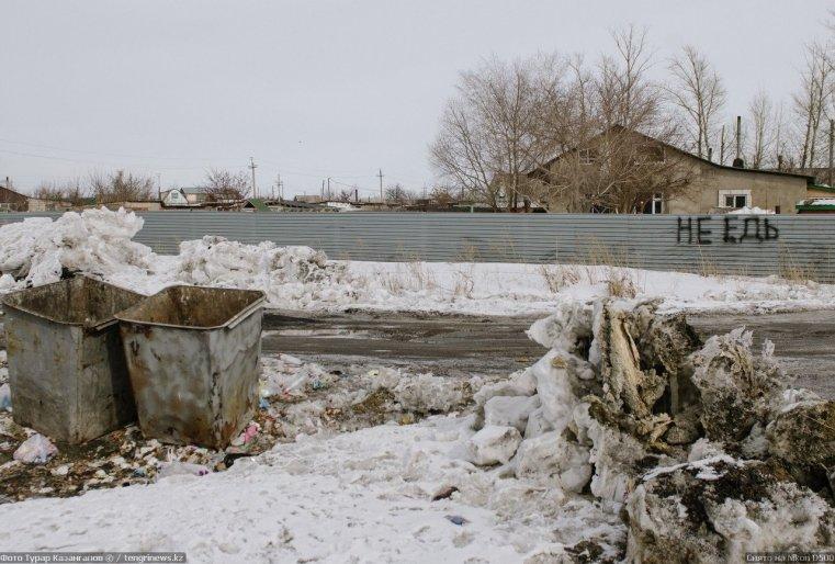 Prigorodny Kazakhstan Déchet