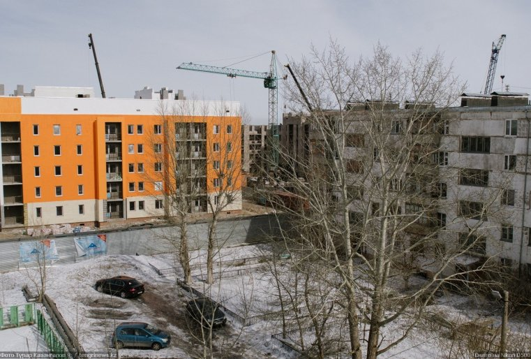 Prigorodny Kazakhstan Immeuble Construction