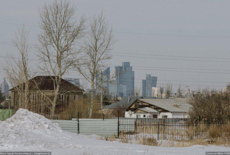 Prigorodny Kazakhstan Astana Vue Banlieue