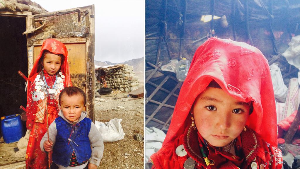 Pamir Kirghiz Afghanistan Enfants
